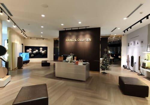 B&O shop at Gaysorn Bangkok