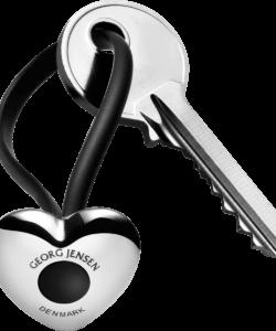 GJ Georg Jensen HEART Keyring