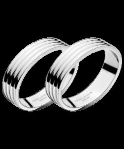 GJ BERNADOTTE Napkin Rings, 2 Pcs.