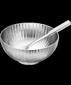 GJ BERNADOTTE Salt Cellar & Spoon