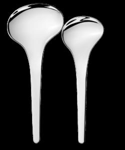 GJ BLOOM Serving Spoons, 2 Pcs
