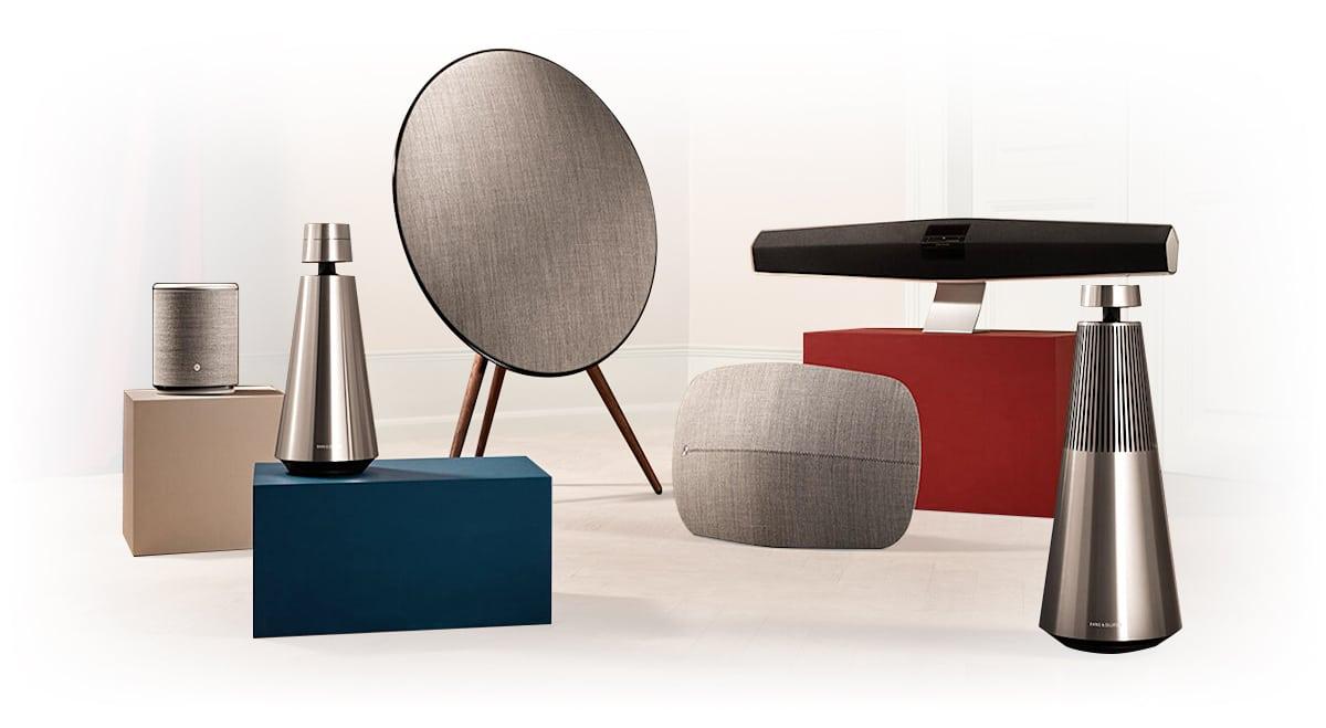 B&O bang & olufsen multiroom speakers