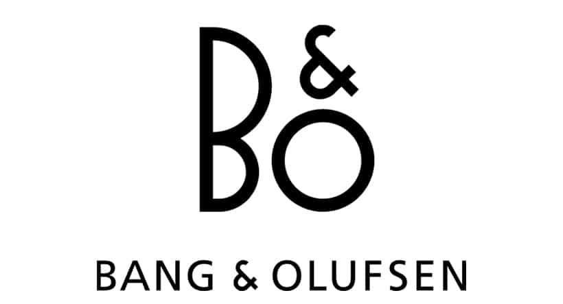 B&O logo bang olufsen