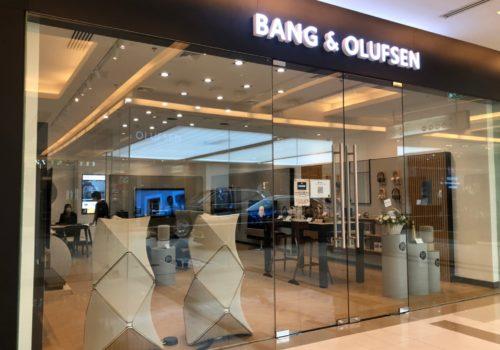 B&O Paragon showroom พารากอน กรุงเทพ