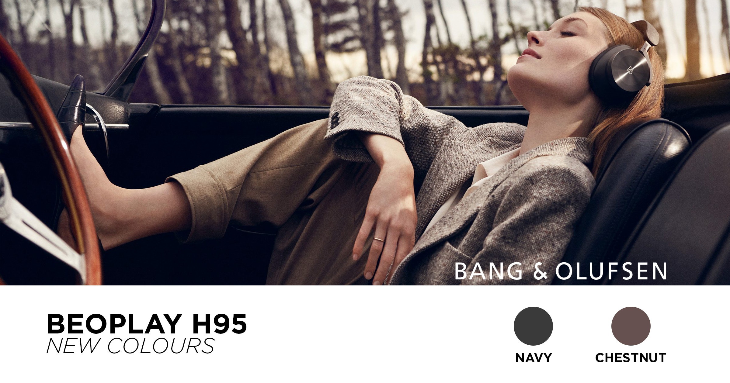 BeoPlay H95 Navy Chestnut New Colors
